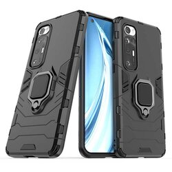Husa Xiaomi Mi 10S Techsuit Silicone Shield, negru