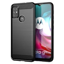 Husa Motorola Moto G30 TPU Carbon - Negru