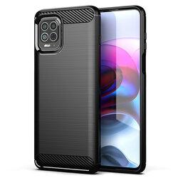 Husa Motorola Moto G100 TPU Carbon - Negru