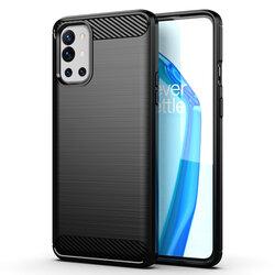 Husa OnePlus 9R TPU Carbon - Negru