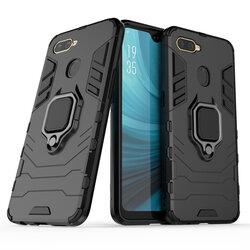 Husa Oppo A12 Techsuit Silicone Shield, negru