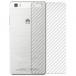 Folie Protectie Spate Huawei P9 - Carbon