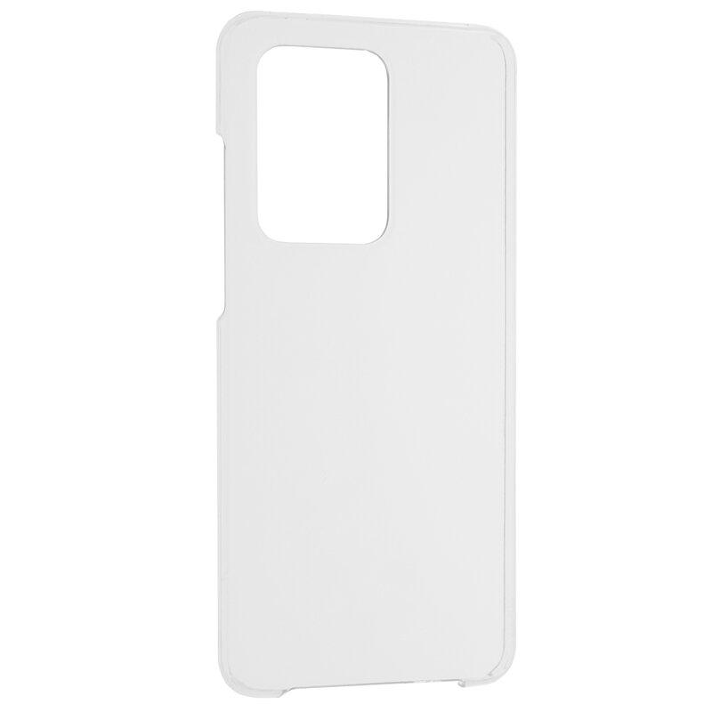 Husa Samsung Galaxy S20 Ultra 5G FullCover 360 Cu Senzor De Amprenta - Transparent