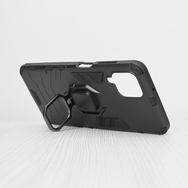 Husa Samsung Galaxy A12 Techsuit Silicone Shield, Negru