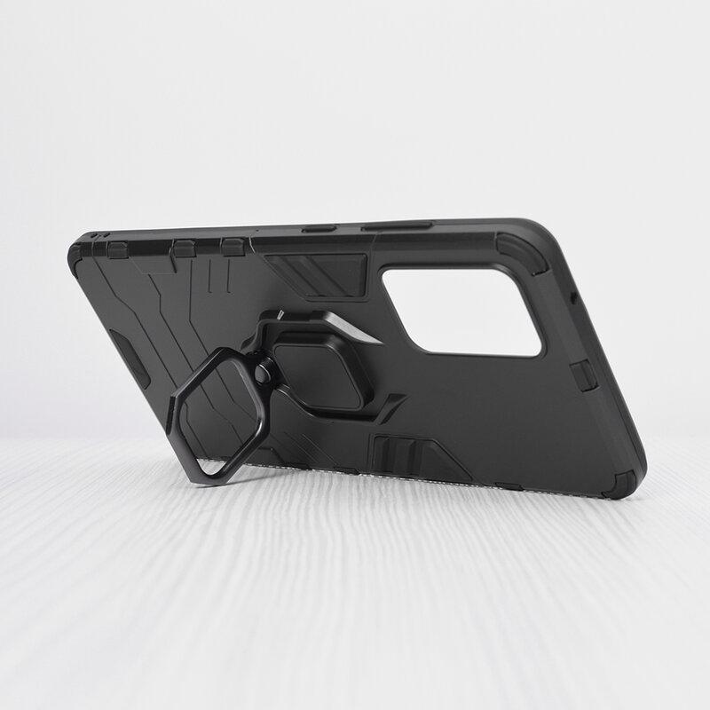 Husa Samsung Galaxy A72 5G Techsuit Silicone Shield, Negru
