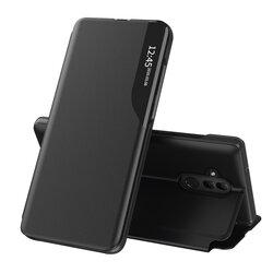 Husa Huawei Mate 20 Lite Eco Leather View Flip Tip Carte - Negru