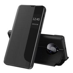 Husa Huawei Mate 40 Pro Eco Leather View Flip Tip Carte - Negru