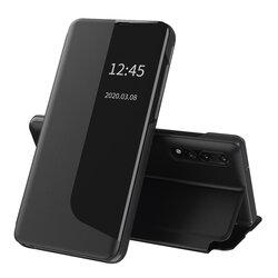 Husa Huawei P20 Pro Eco Leather View Flip Tip Carte - Negru