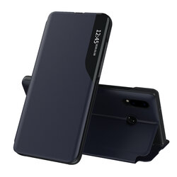 Husa Huawei P20 Lite Eco Leather View Flip Tip Carte - Albastru