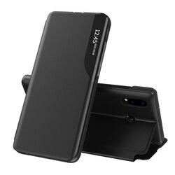 Husa Huawei P20 Lite Eco Leather View Flip Tip Carte - Negru