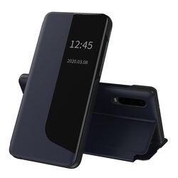 Husa Huawei P30 Eco Leather View Flip Tip Carte - Albastru