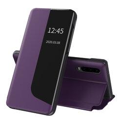 Husa Huawei P30 Eco Leather View Flip Tip Carte - Mov