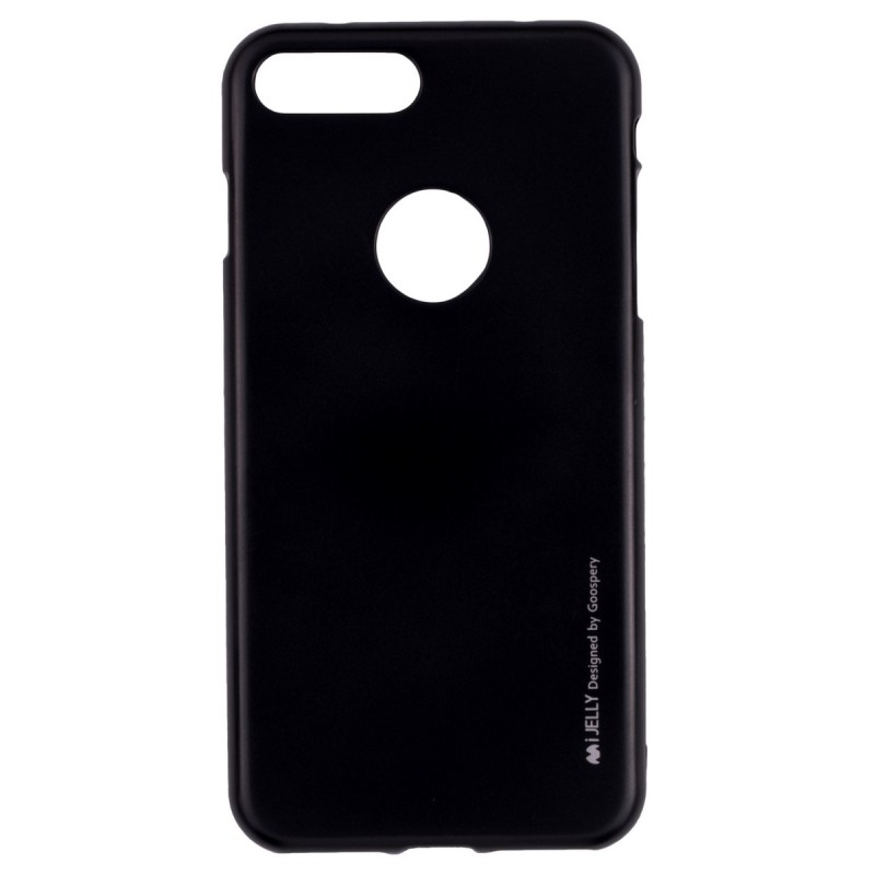 Husa Iphone 7 Plus Mercury i-Jelly TPU - Black