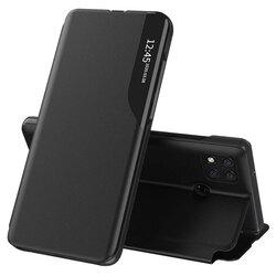 Husa Xiaomi Redmi 9C Eco Leather View Flip Tip Carte - Negru