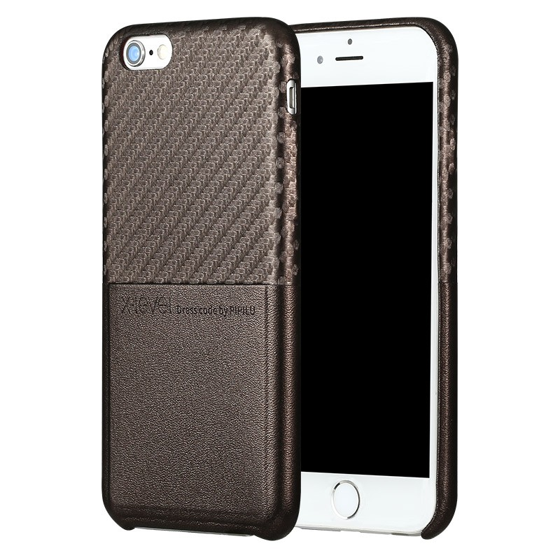 Husa Iphone 7 X-Level CardCase - Brown