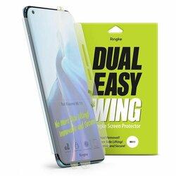 [Pachet 2x] Folie Xiaomi Mi 11 Ultra Ringke Dual Easy Wing Self Dust Removal - Clear