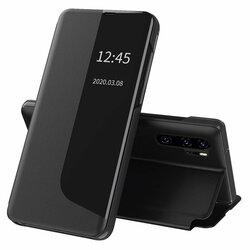 Husa Huawei P30 Pro New Edition Eco Leather View Flip Tip Carte - Negru