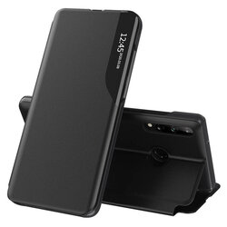 Husa Samsung Galaxy A20s Eco Leather View Flip Tip Carte - Negru