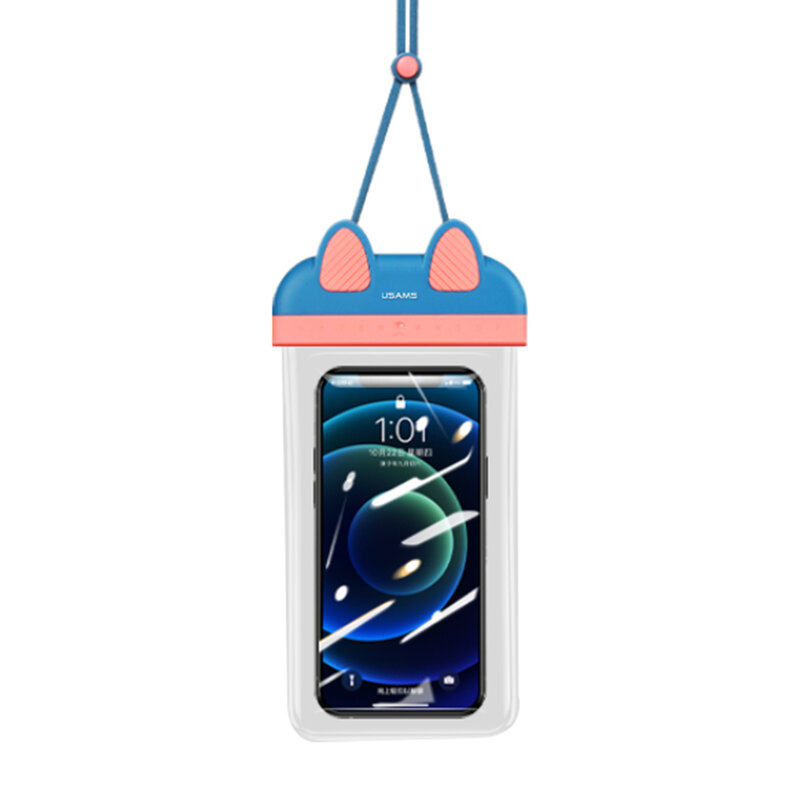 Husa subacvatica telefon USAMS, waterproof IPX8, 7