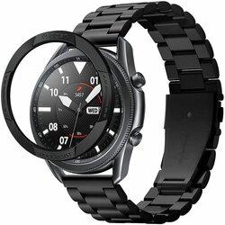 Bumper Samsung Galaxy Watch 3 45mm Spigen Chrono Shield, Negru