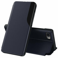 Husa iPhone 6 Plus / 6s Plus Eco Leather View Flip Tip Carte - Albastru