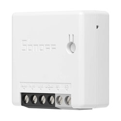 Releu wireless Sonoff Mini R2, comutator inteligent Wi-Fi, alb