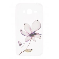 Husa Allview P5 eMagic TPU Slim Model Purple Flower