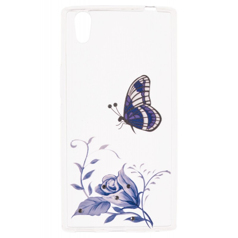 Husa Allview X2 Soul Style, Style+ Plus TPU Slim Model Blue Butterfly