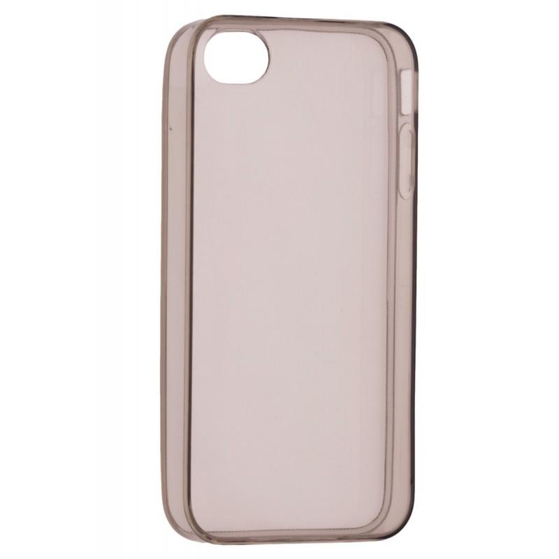 Husa iPhone SE, 5, 5s TPU UltraSlim Fumuriu
