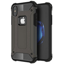 Husa iPhone XS Max Mobster Hybrid Armor - Negru