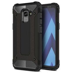 Husa Samsung Galaxy A8 Plus 2018 A730 Mobster Hybrid Armor - Negru
