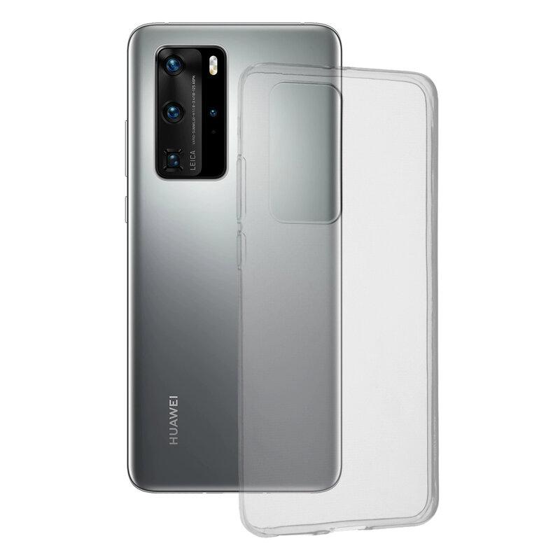 Husa Huawei P40 Pro TPU UltraSlim - Transparent