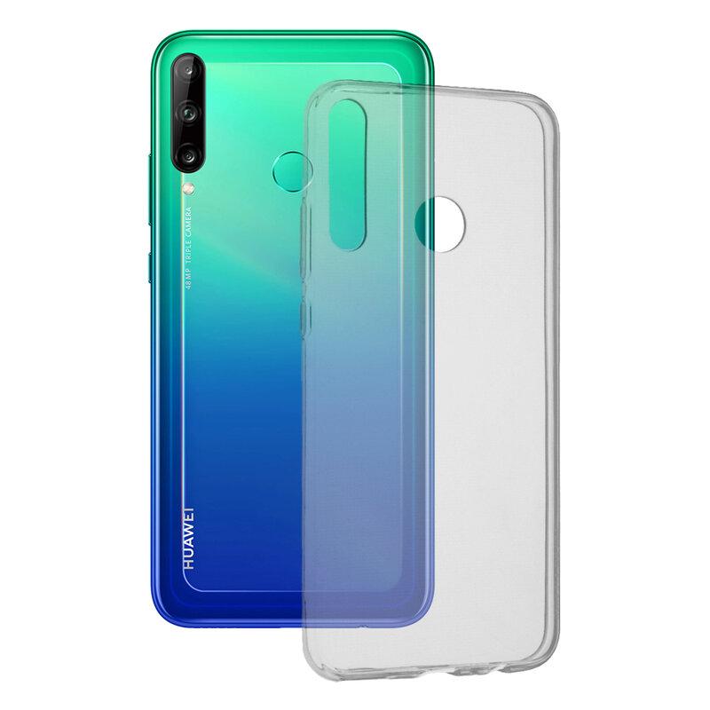 Husa Huawei P40 Lite E TPU UltraSlim - Transparent