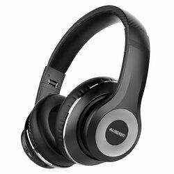 Casti wireless on-ear Ausdom ANC10, active noise cancelling, negru