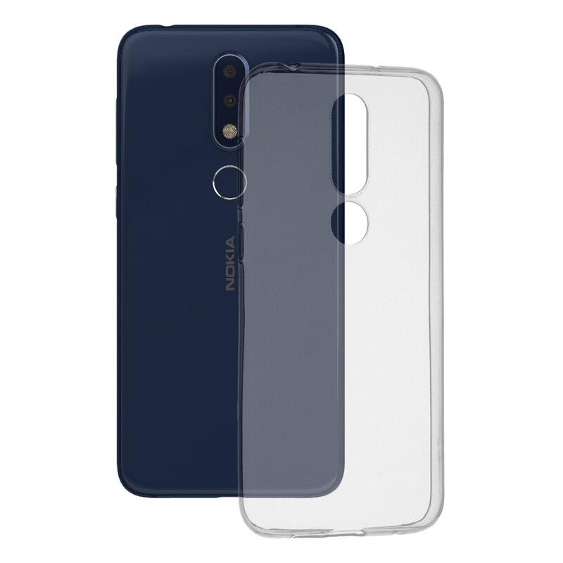 Husa Nokia X6 2018 TPU UltraSlim Transparent