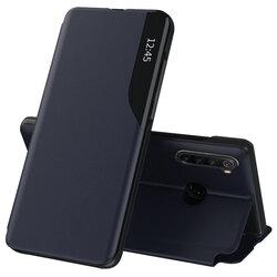 Husa Xiaomi Redmi Note 8 Eco Leather View Flip Tip Carte - Albastru