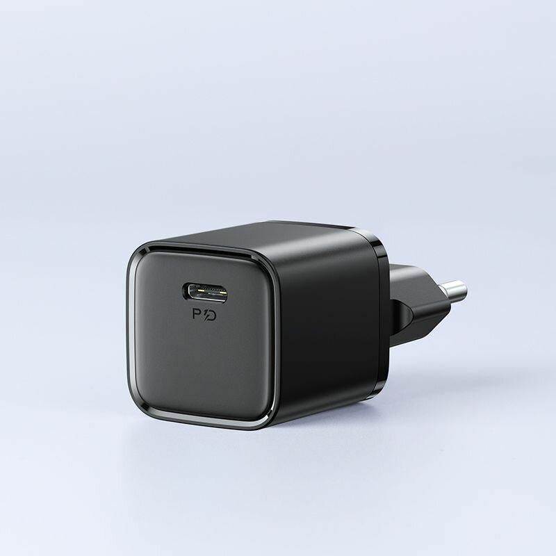 Incarcator priza JoyRoom Type-C PD20W/ QC3.0, negru, L-P202