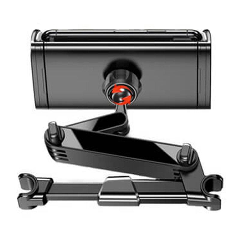 Suport tableta tetiera auto Yesido C117, rotire 360°, negru