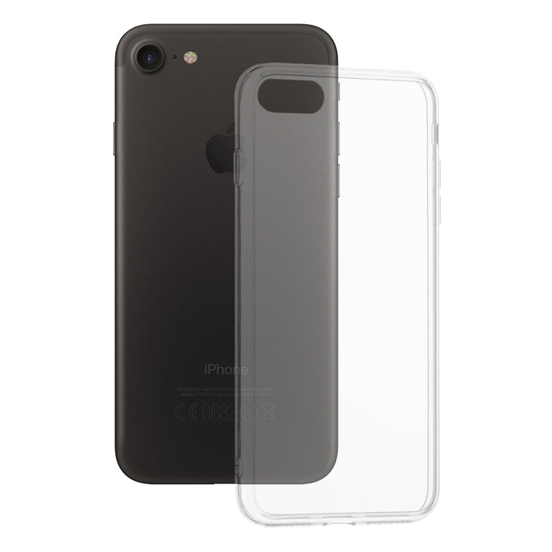Husa iPhone SE 2, SE 2020 TPU UltraSlim - Transparent