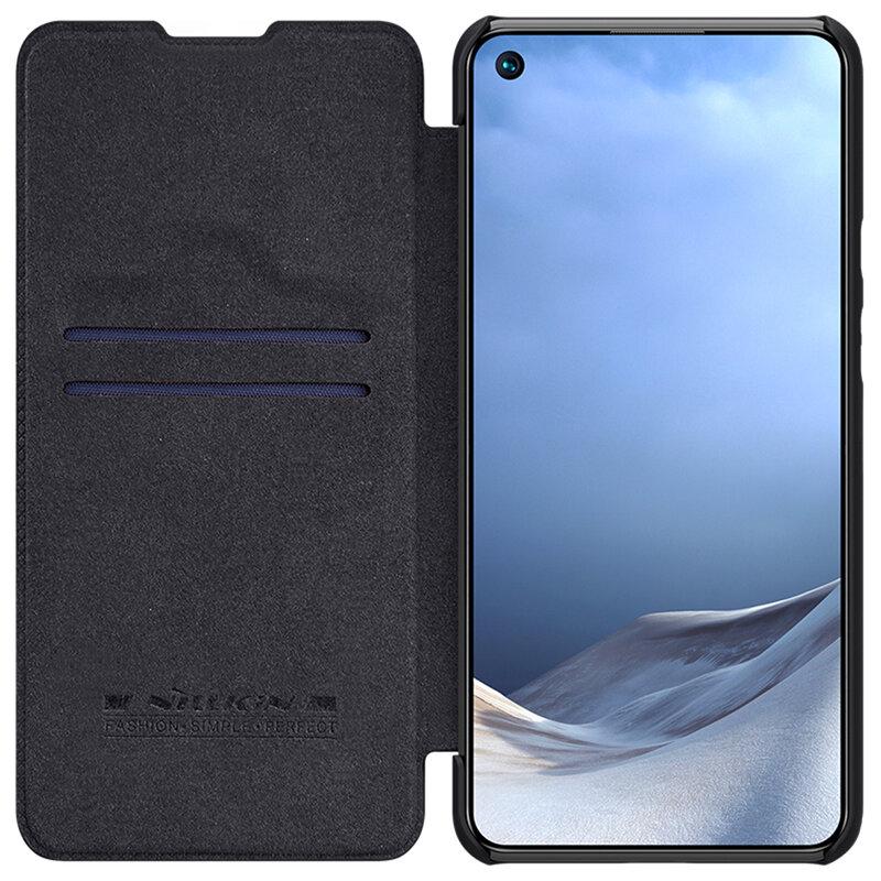 Husa Xiaomi Mi 11 Lite Nillkin QIN Leather - Negru