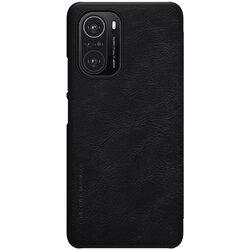 Husa Xiaomi Poco F3 Nillkin QIN Leather - Negru