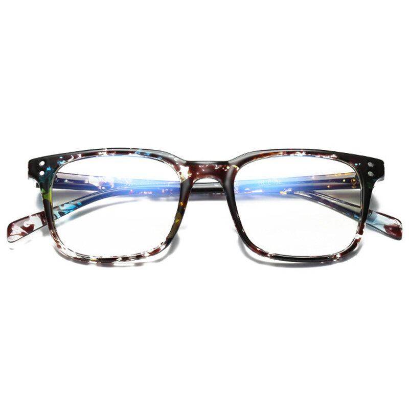 Ochelari patrati dama lumina albastra cu protectie calculator, F5025-C368