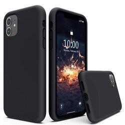 Husa Xiaomi Mi 11 Lite Techsuit Soft Edge Silicone, negru