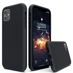 Husa Huawei P50 Techsuit Soft Edge Silicone, negru