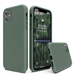 Husa Motorola Moto G100 Techsuit Soft Edge Silicone, verde inchis