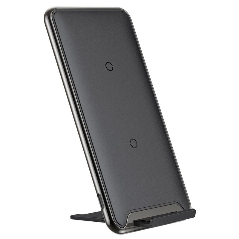 Incarcator wireless Baseus, suport telefon birou, WXHSD-B01
