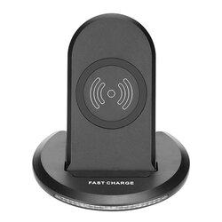 Incarcator wireless U8, suport telefon birou, fast charge