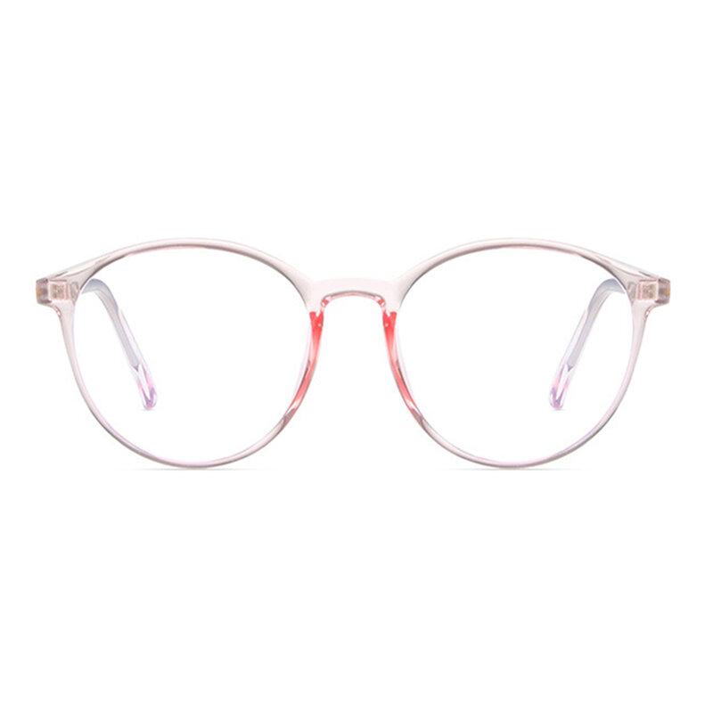 Ochelari rotunzi dama antireflex cu lentile protectie calculator, F8551-C5
