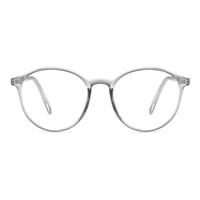 Ochelari rotunzi unisex antireflex cu lentile protectie calculator, F8551-C7