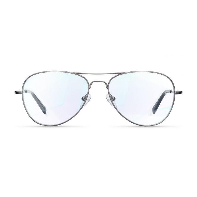 Ochelari de protectie calculator impotriva luminii albastre Meller Ashia, gri